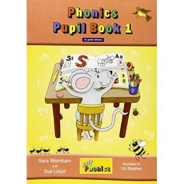 Jolly Phonics Pupil Book 1 Colour Edition - Print