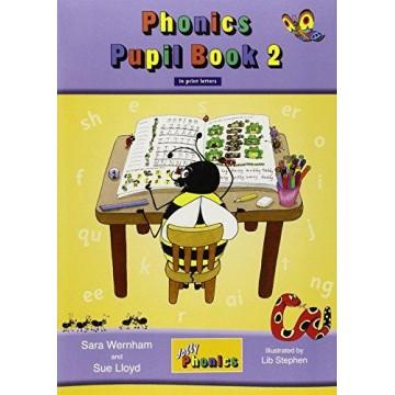 Jolly Phonics Pupil Book 2 Colour Edition - Print